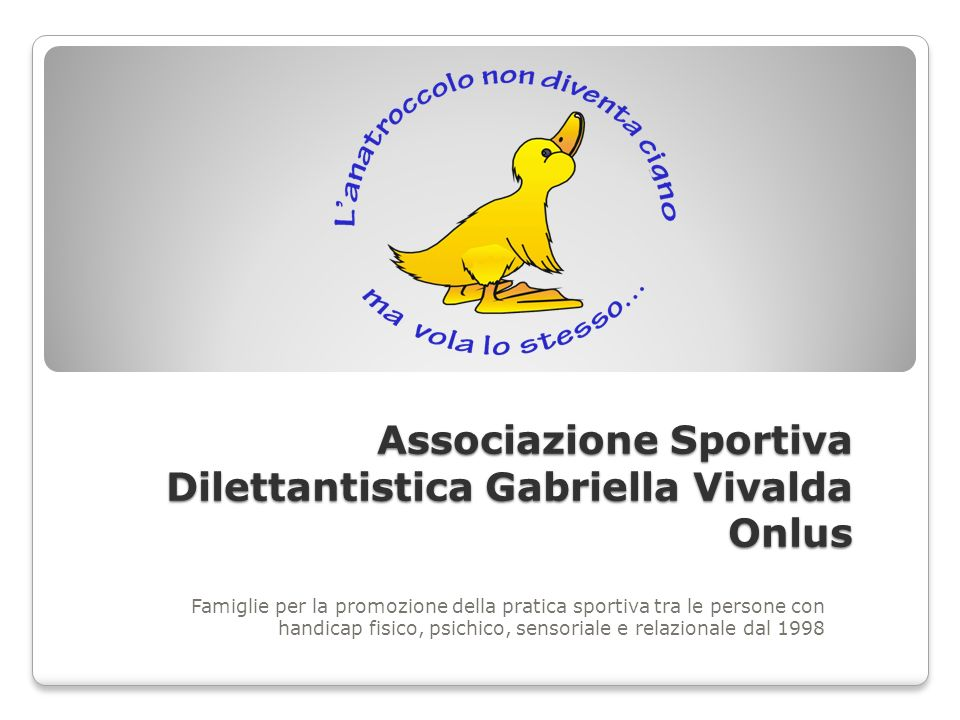 Associazione Sportiva Dilettantistica Gabriella Vivalda Onlus