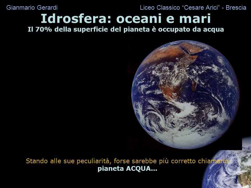 Idrosfera: oceani e mari
