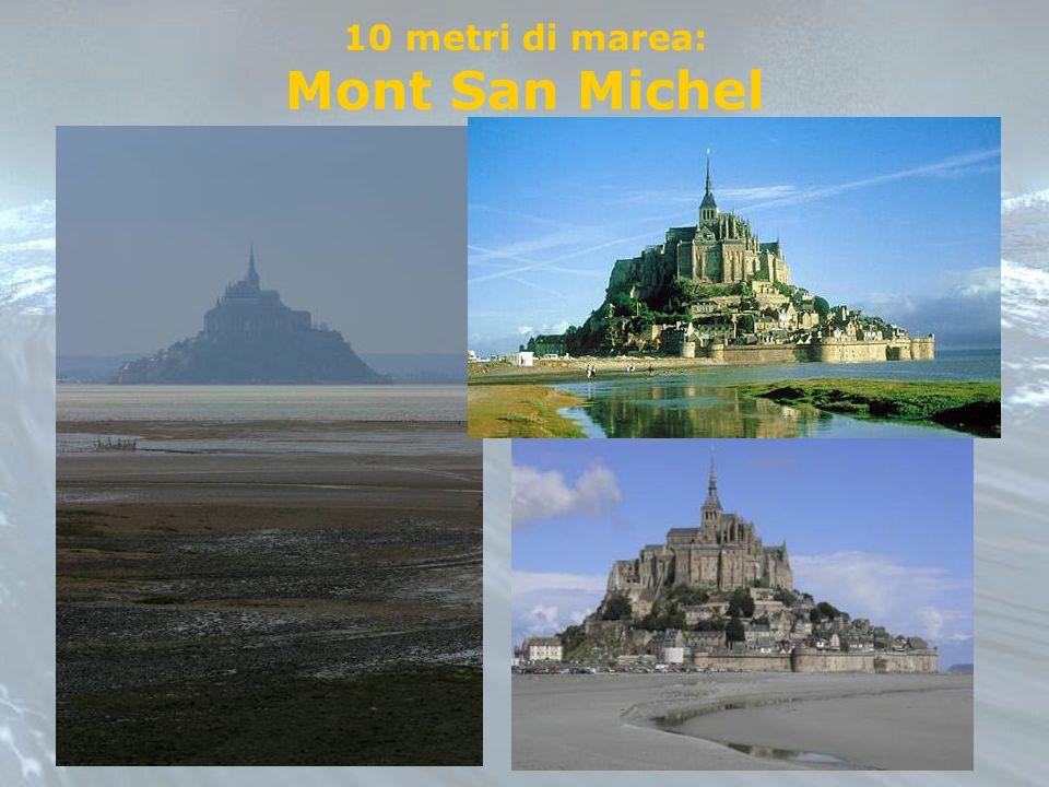 10 metri di marea: Mont San Michel