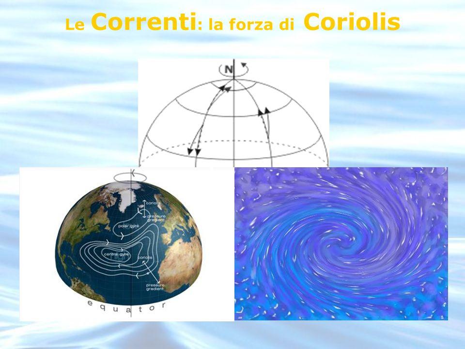 Le Correnti: la forza di Coriolis