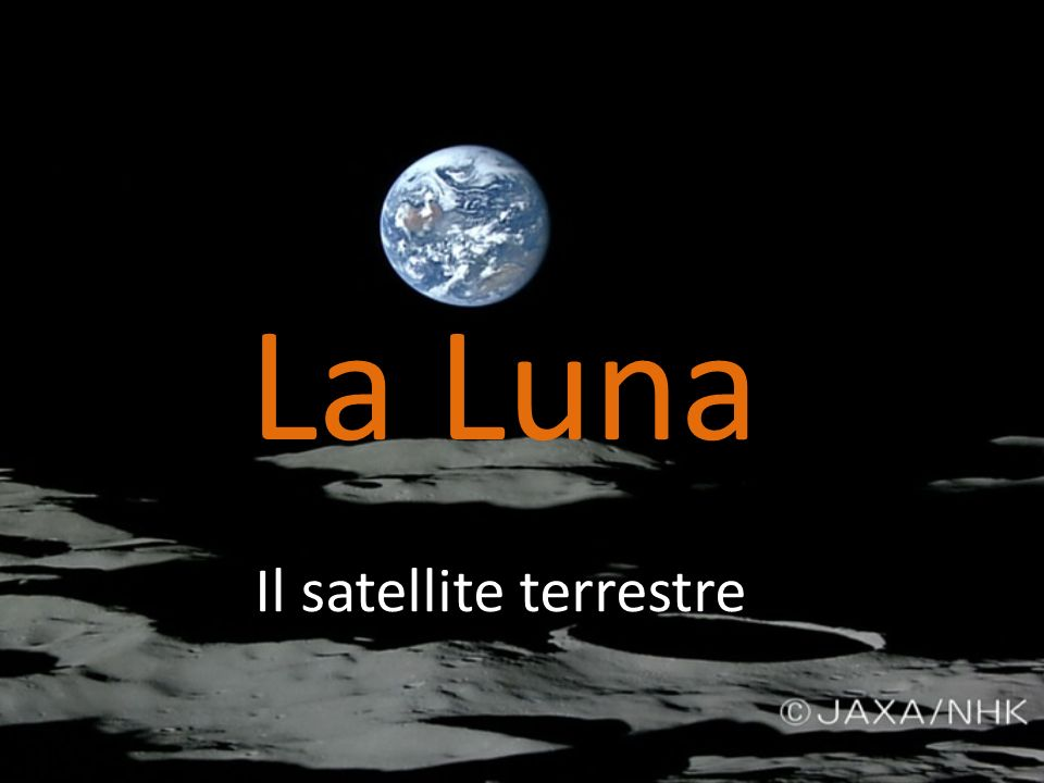 Il satellite terrestre