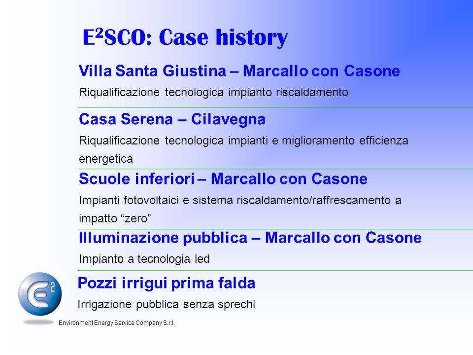 E2SCO: Case history Villa Santa Giustina – Marcallo con Casone