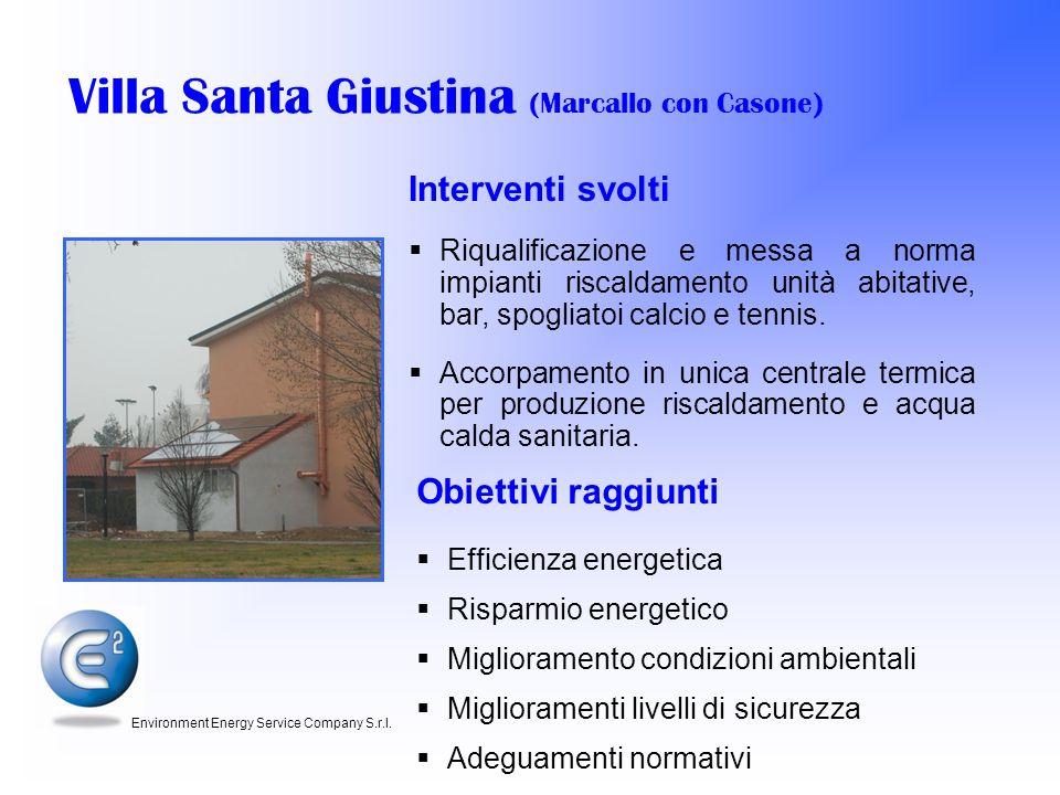 Villa Santa Giustina (Marcallo con Casone)