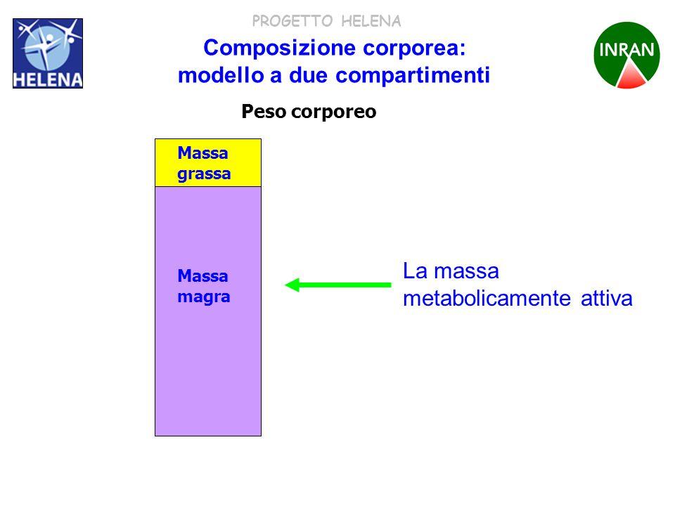 Composizione corporea: modello a due compartimenti