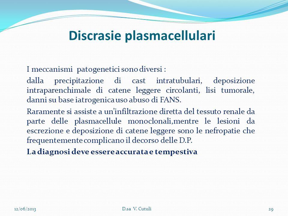 Discrasie plasmacellulari