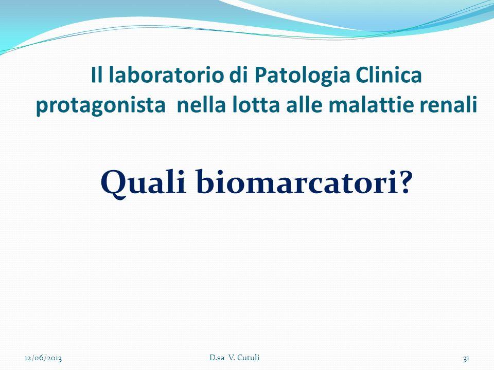 Il laboratorio di Patologia Clinica protagonista nella lotta alle malattie renali
