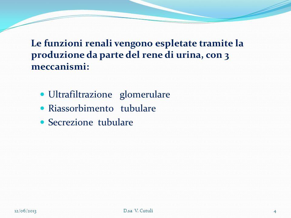 Ultrafiltrazione glomerulare Riassorbimento tubulare
