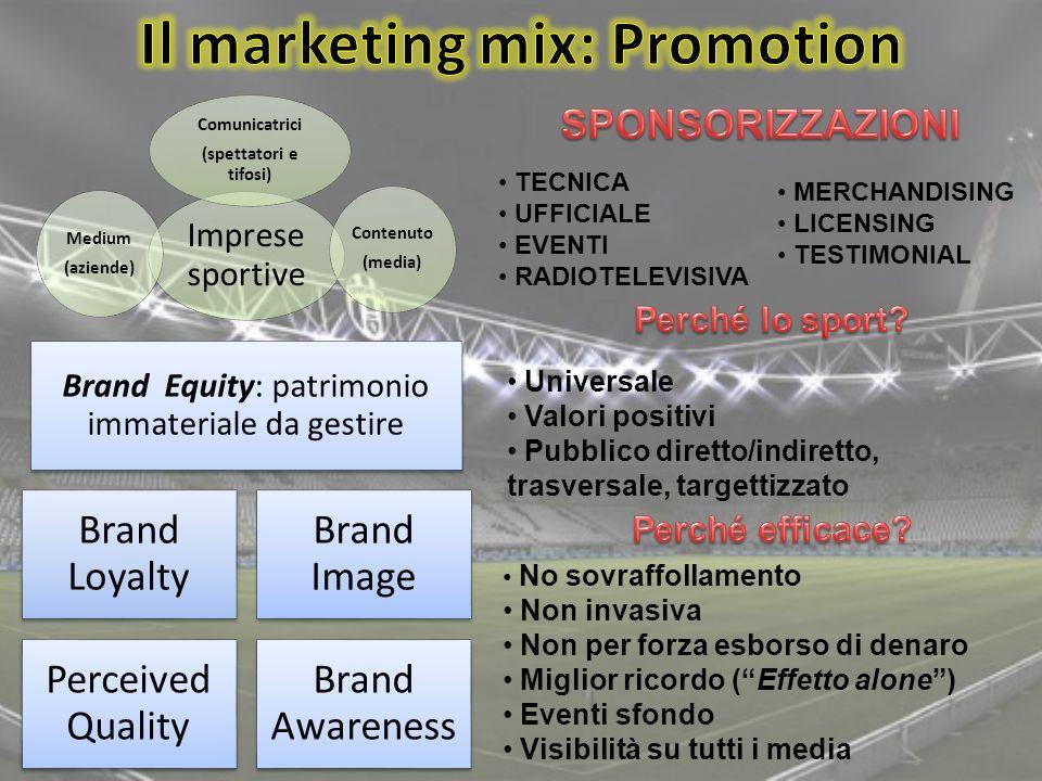 Il marketing mix: Promotion