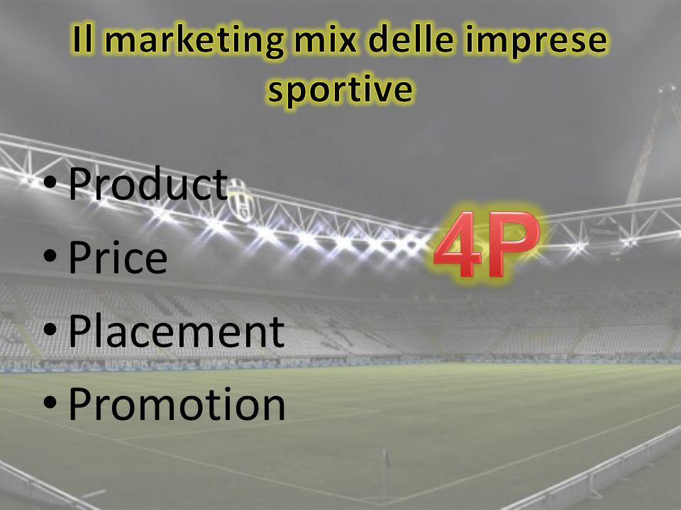 Il marketing mix delle imprese sportive
