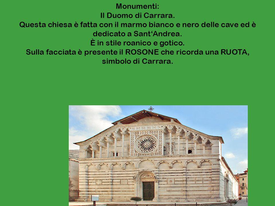 Monumenti: Il Duomo di Carrara