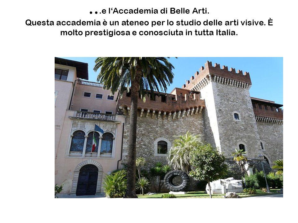 e l'Accademia di Belle Arti