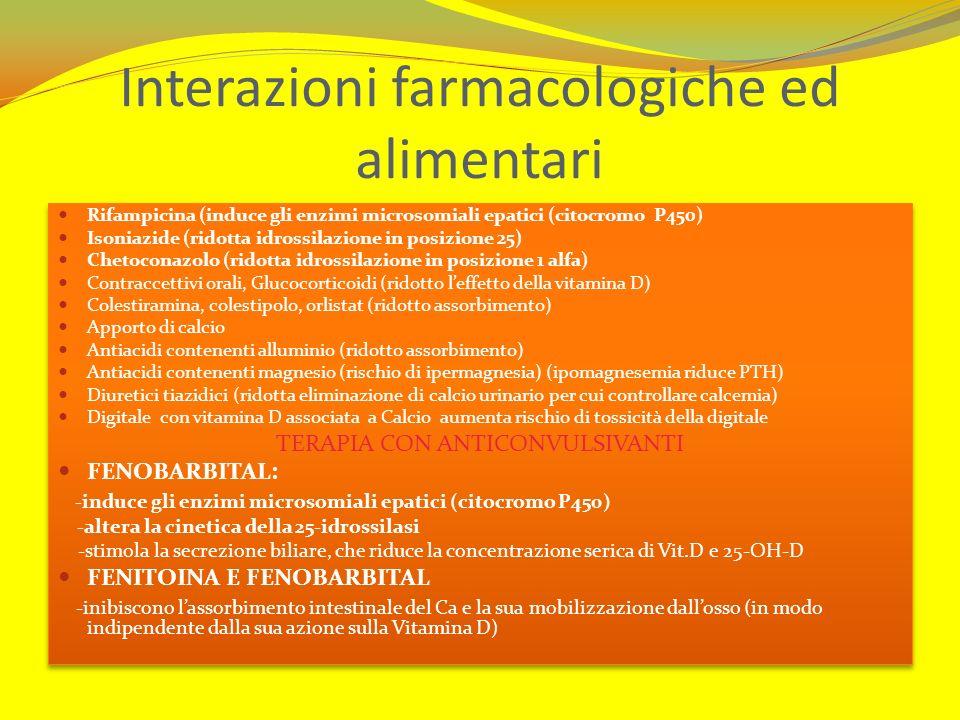 Interazioni farmacologiche ed alimentari