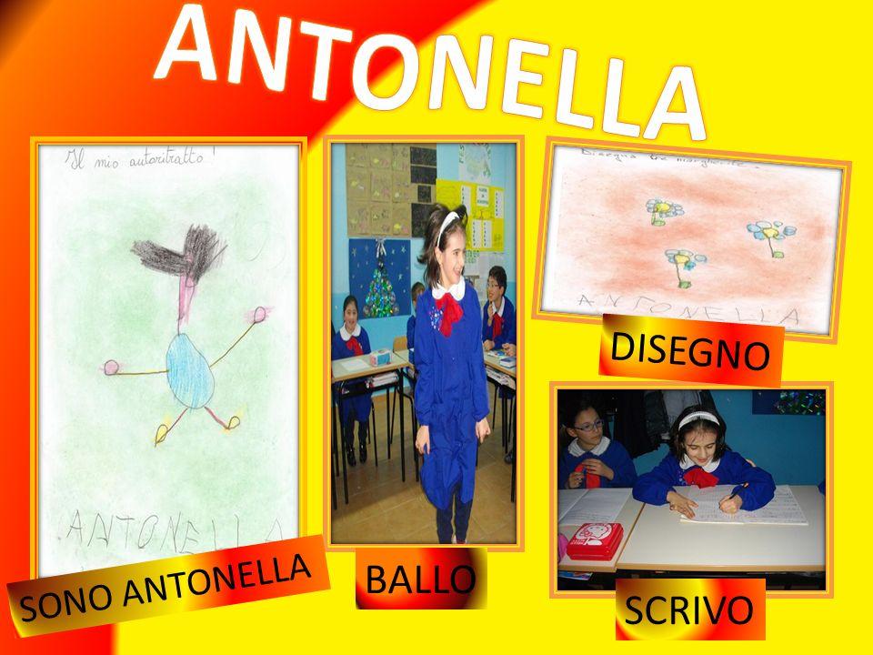 ANTONELLA DISEGNO BALLO SONO ANTONELLA SCRIVO