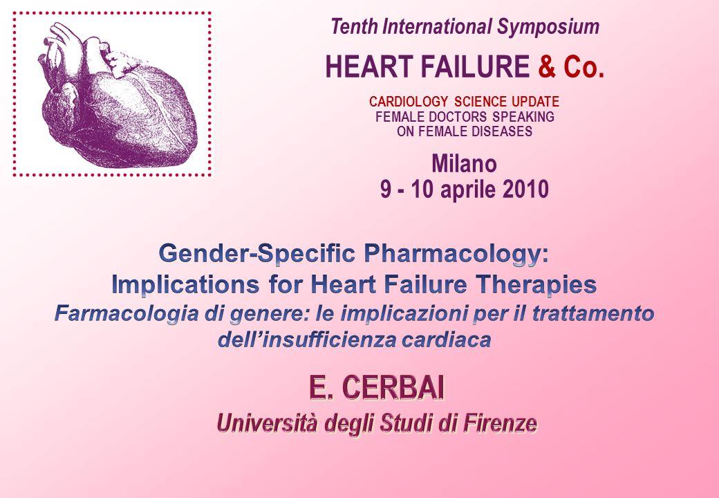 E. CERBAI HEART FAILURE & Co. Milano 9 - 10 aprile 2010