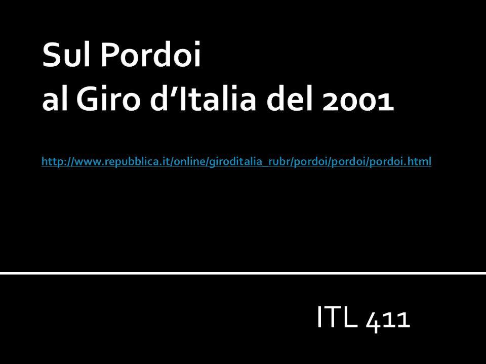 Sul Pordoi al Giro d'Italia del 2001 http://www. repubblica