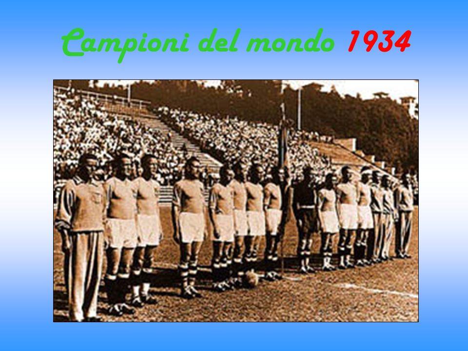 Campioni del mondo 1934