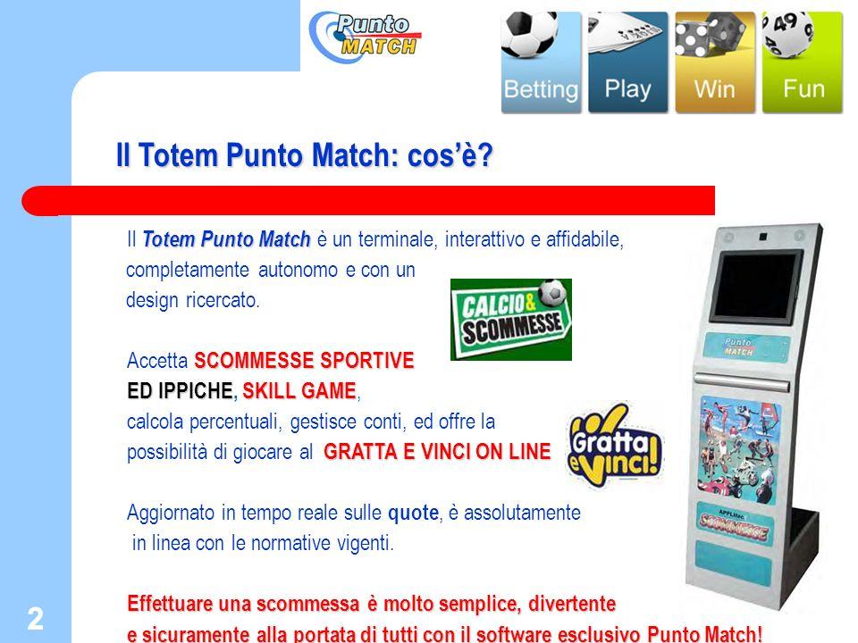 Il Totem Punto Match: cos'è