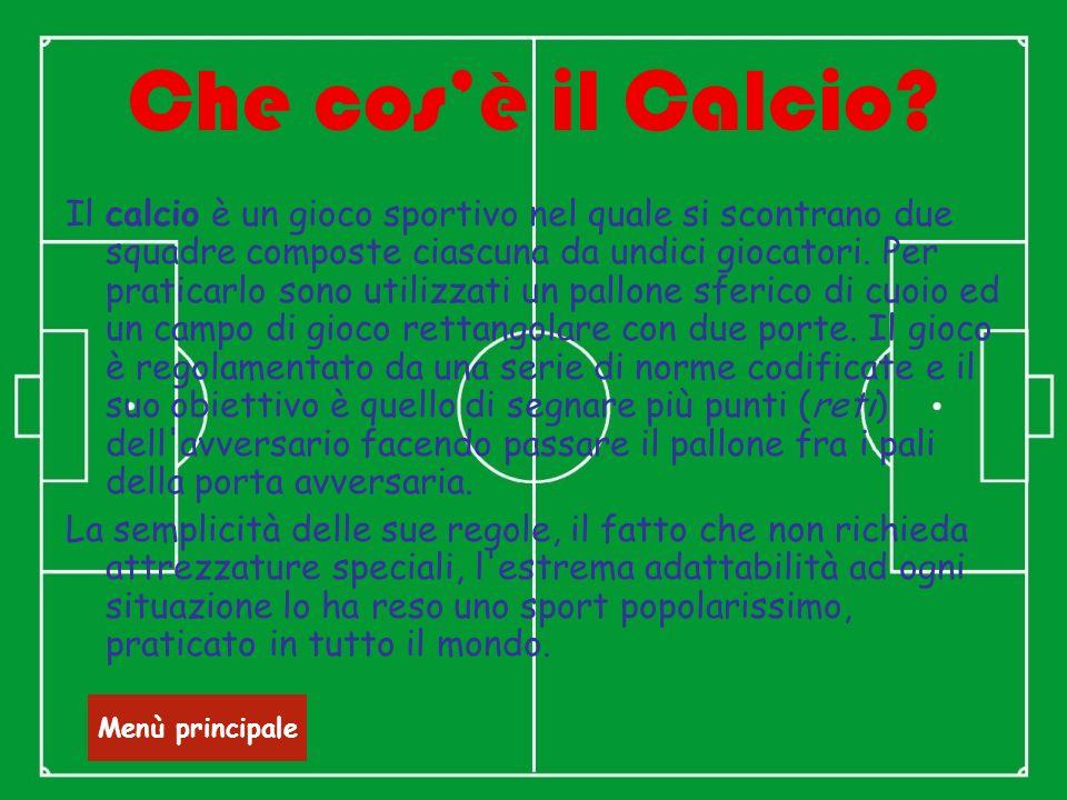 Che cos'è il Calcio
