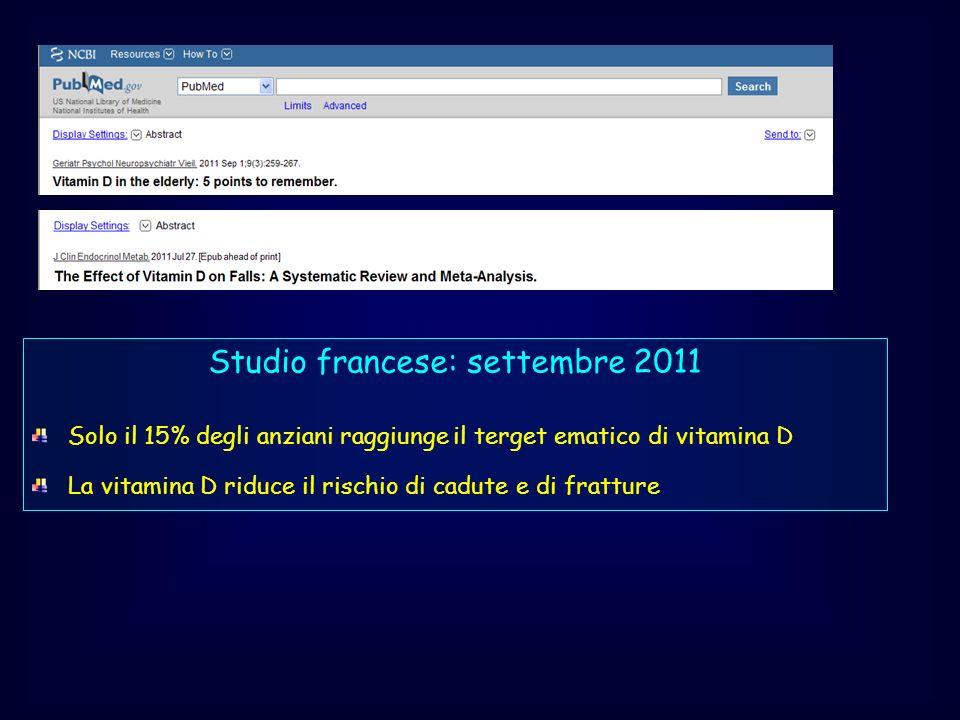 Studio francese: settembre 2011