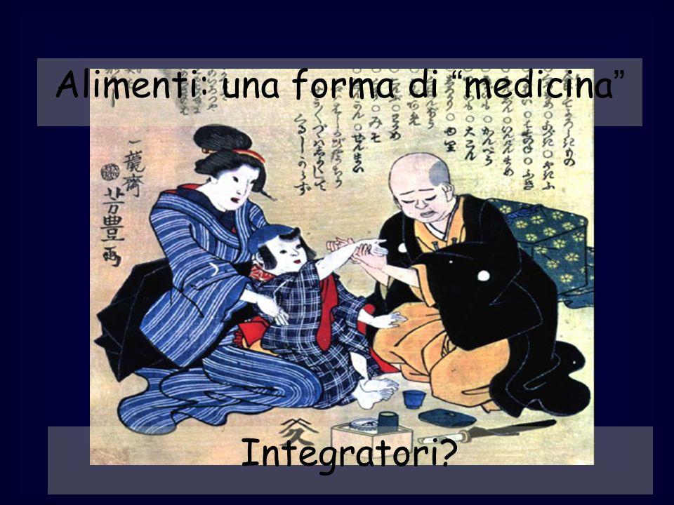 Alimenti: una forma di medicina