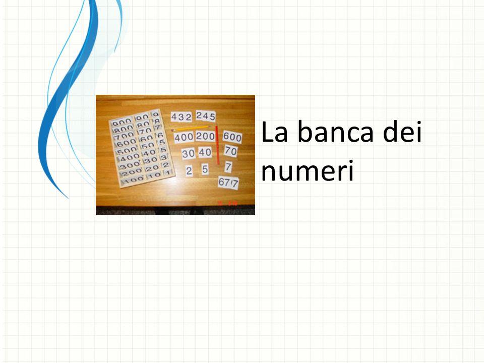 La banca dei numeri