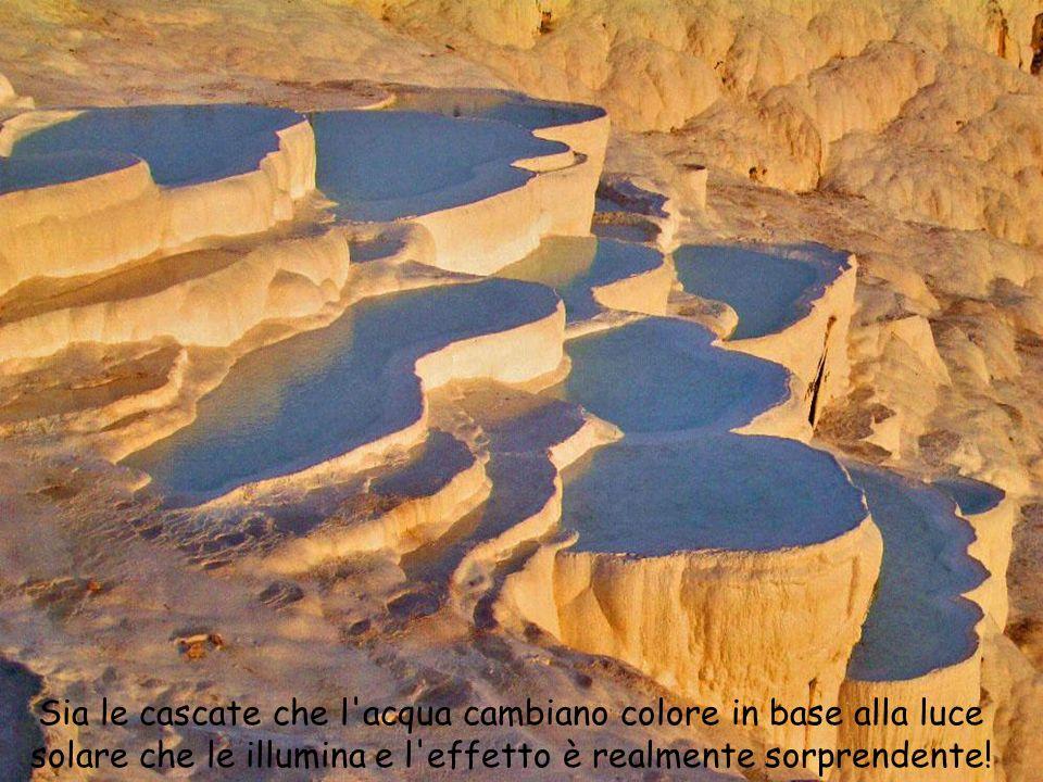 Sia le cascate che l acqua cambiano colore in base alla luce solare che le illumina e l effetto è realmente sorprendente!