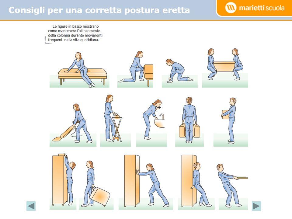 Consigli per una corretta postura eretta