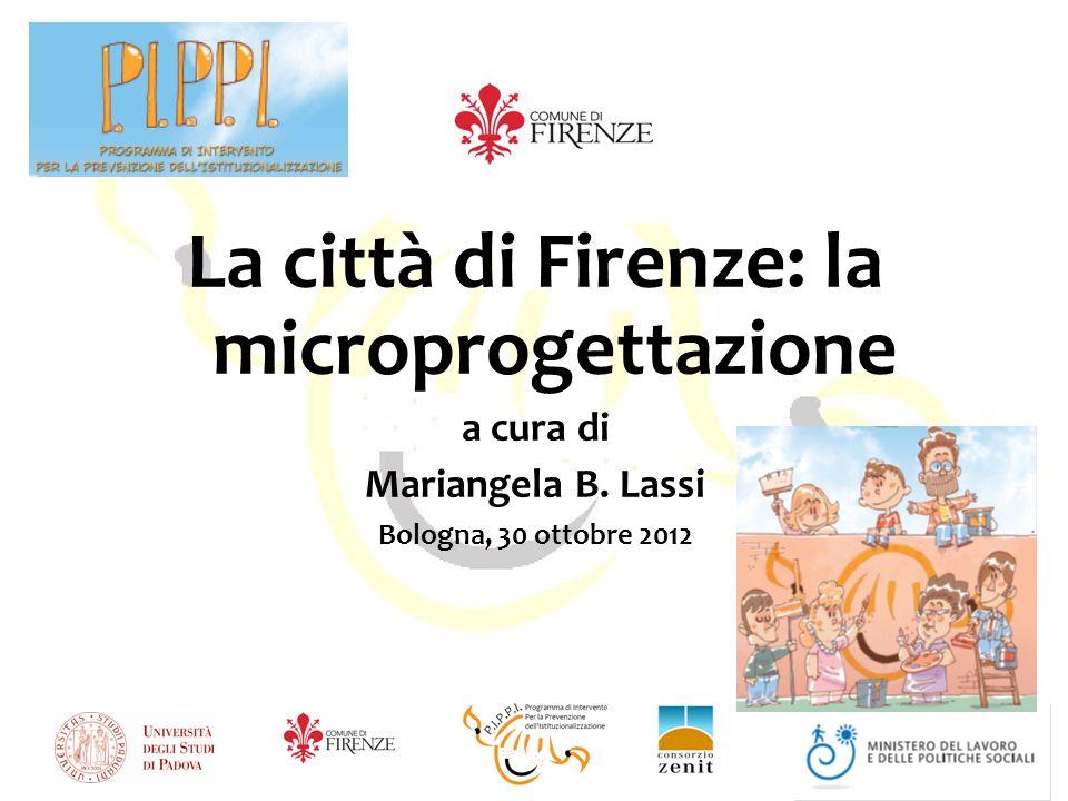 La città di Firenze: la microprogettazione