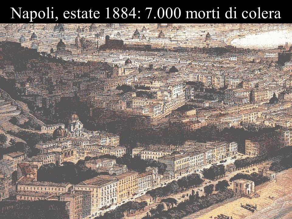 Napoli, estate 1884: 7.000 morti di colera