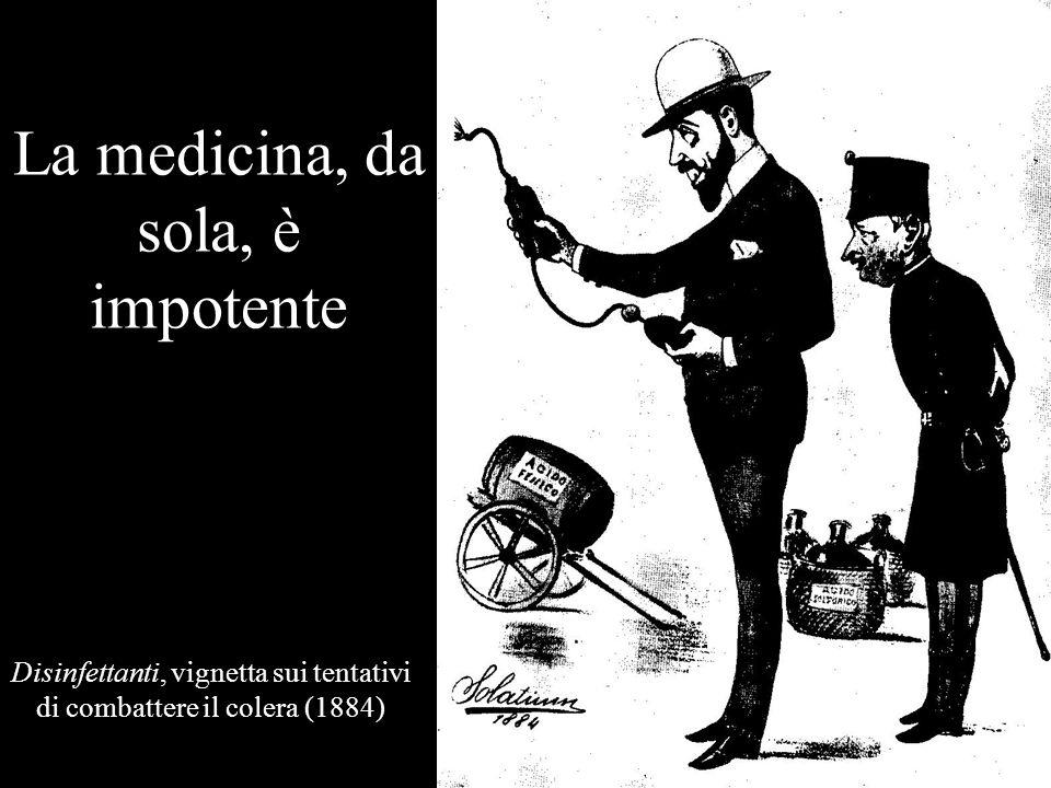 La medicina, da sola, è impotente