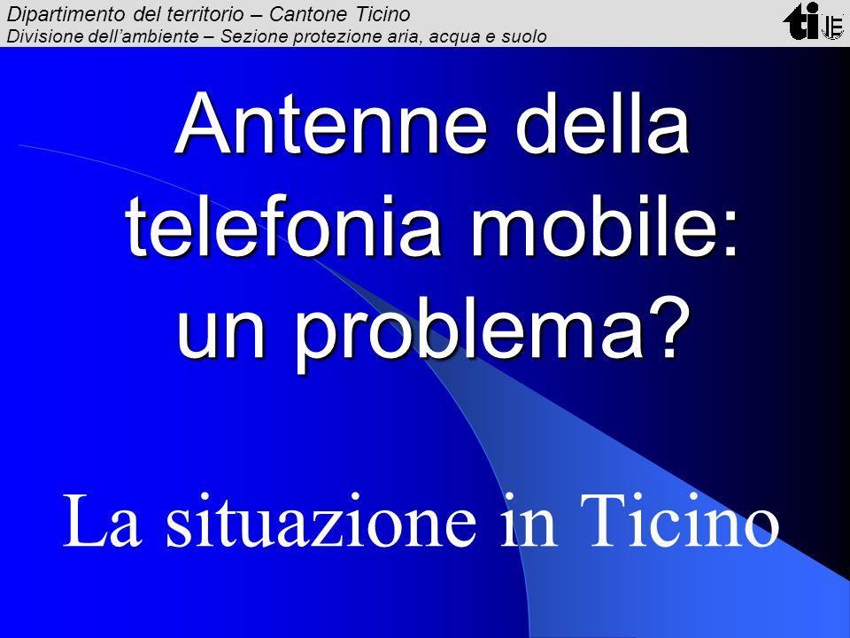 Antenne della telefonia mobile: un problema