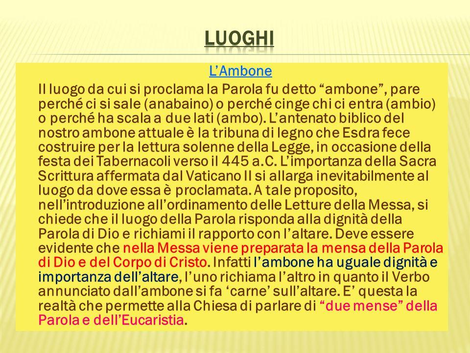 Luoghi L'Ambone.