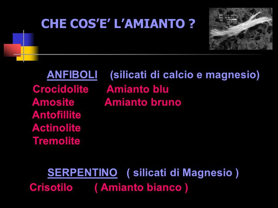 CHE COS'E' L'AMIANTO