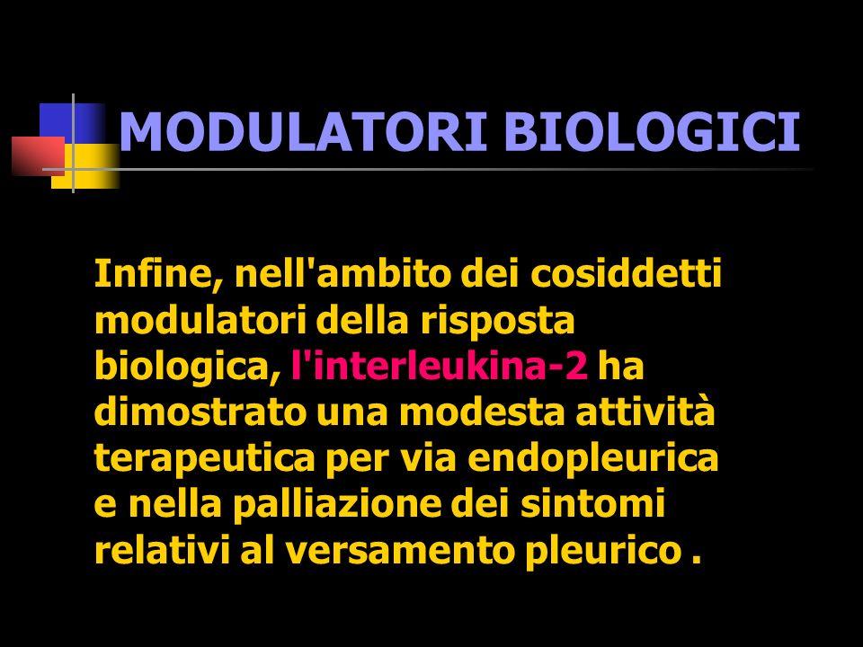 MODULATORI BIOLOGICI