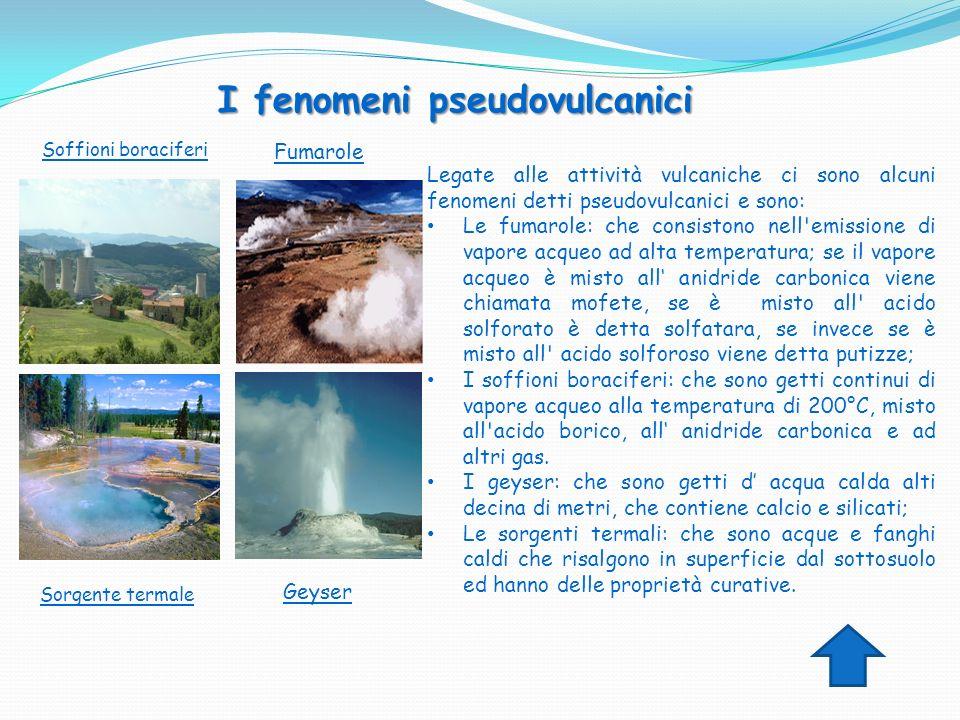 I fenomeni pseudovulcanici