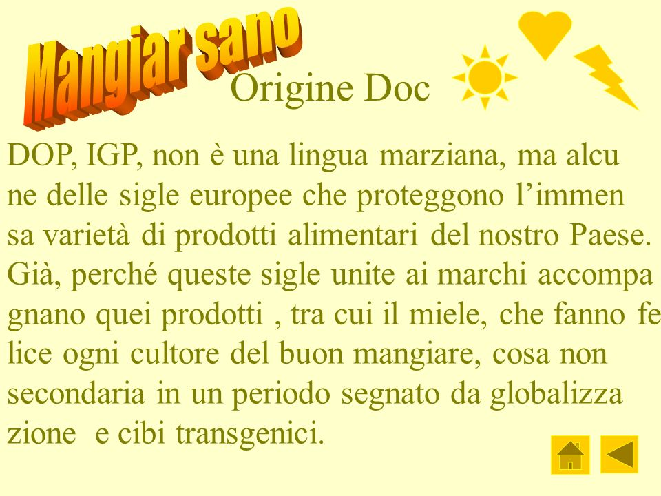 Origine Doc DOP, IGP, non è una lingua marziana, ma alcu