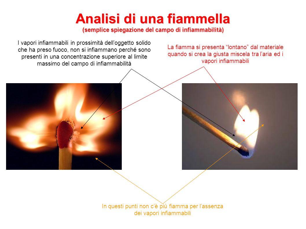 Analisi di una fiammella