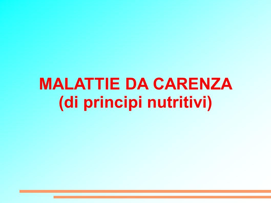 (di principi nutritivi)