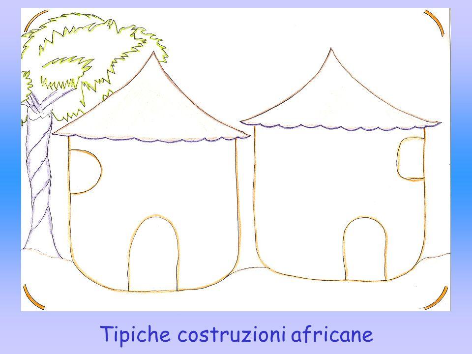 Tipiche costruzioni africane