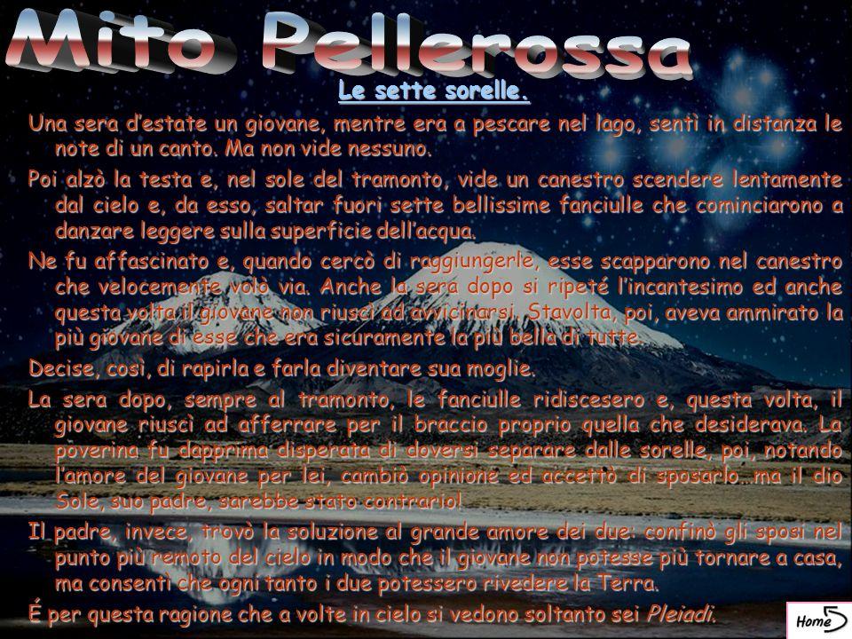 Mito Pellerossa Le sette sorelle.