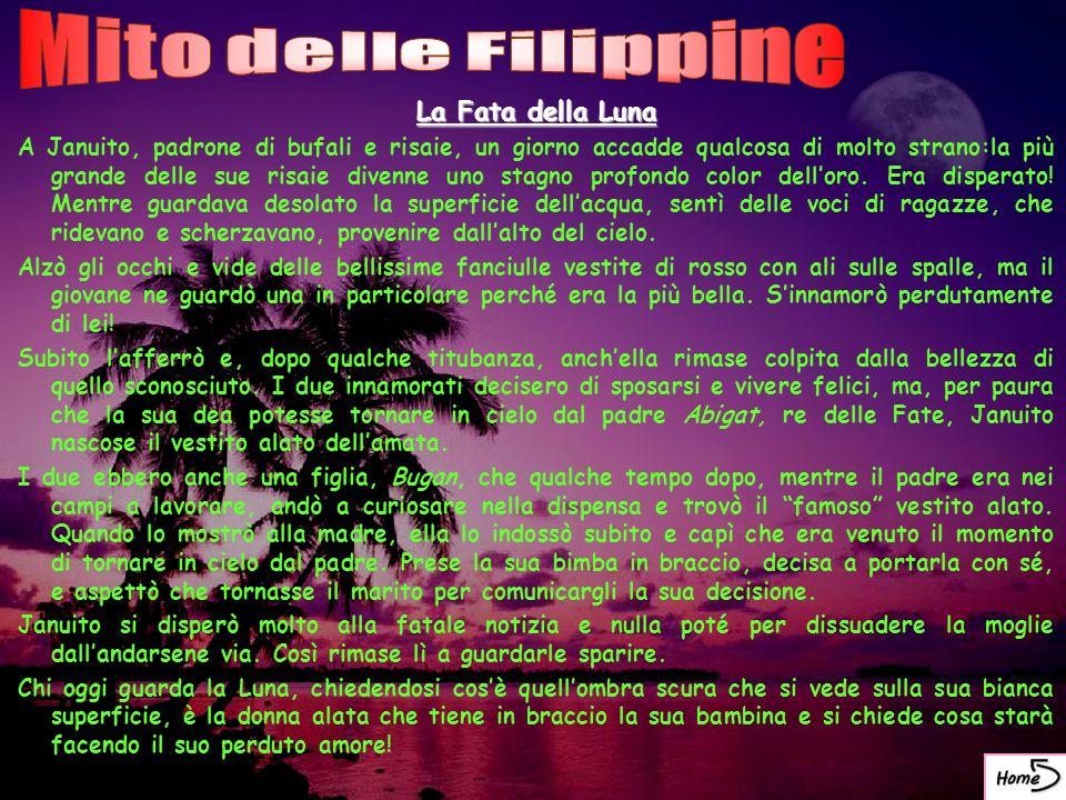 Mito delle Filippine La Fata della Luna