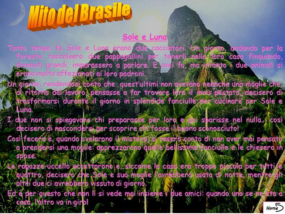 Mito del Brasile Sole e Luna