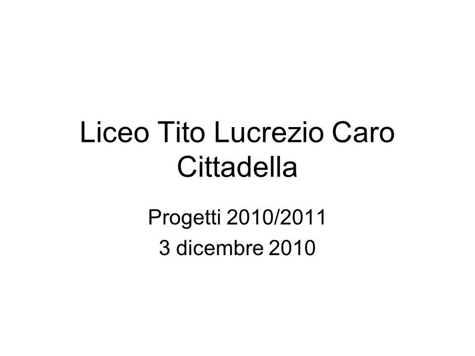 Liceo Tito Lucrezio Caro Cittadella