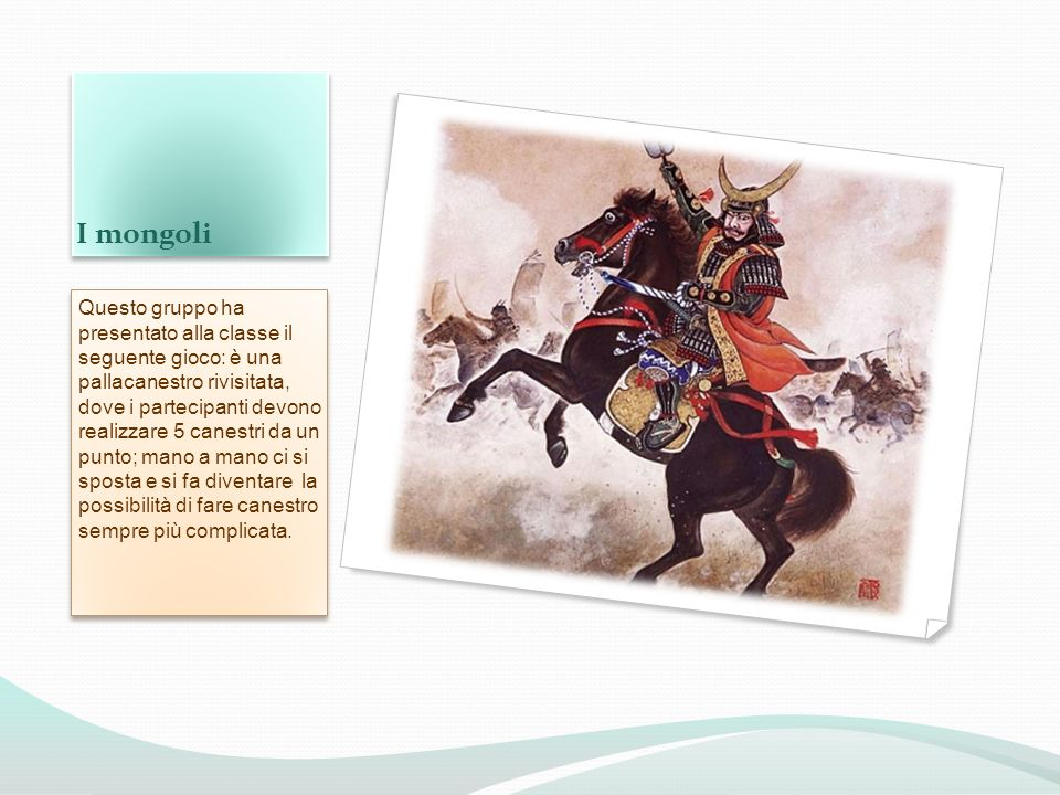 I mongoli