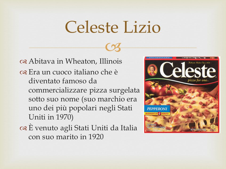 Celeste Lizio Abitava in Wheaton, Illinois