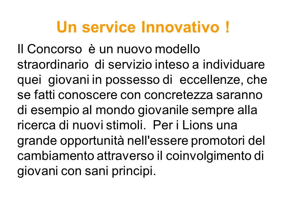 Un service Innovativo !