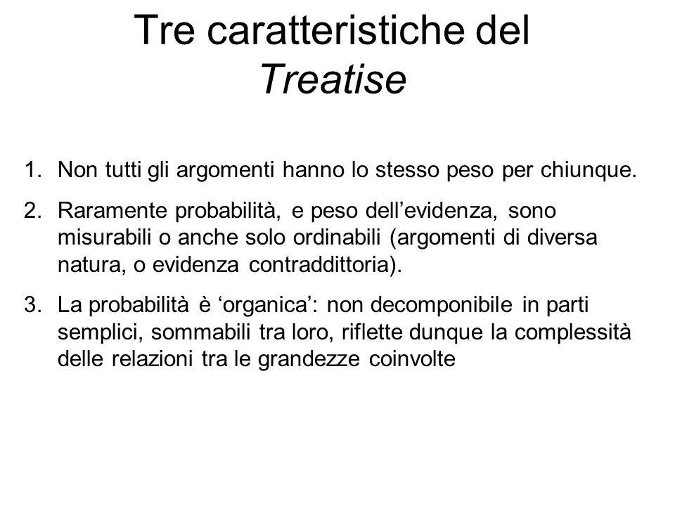Tre caratteristiche del Treatise