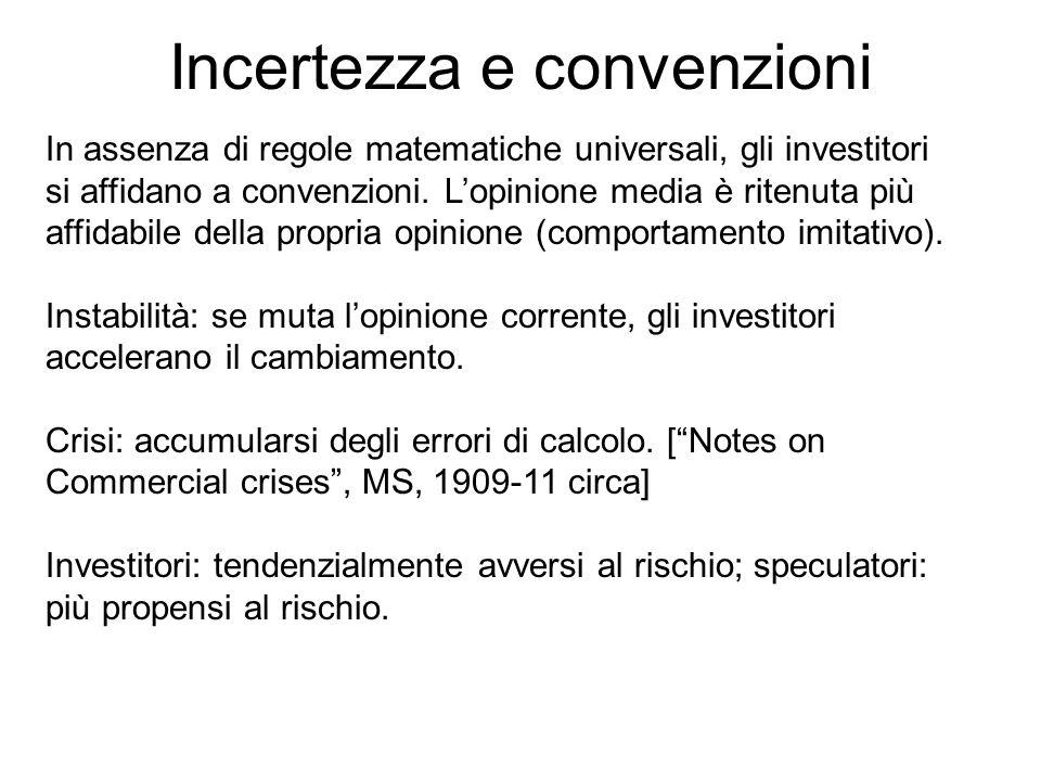 Incertezza e convenzioni