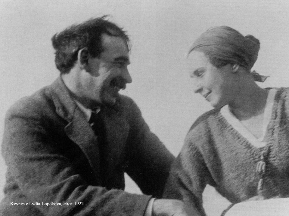 Keynes e Lydia Lopokova, circa 1922