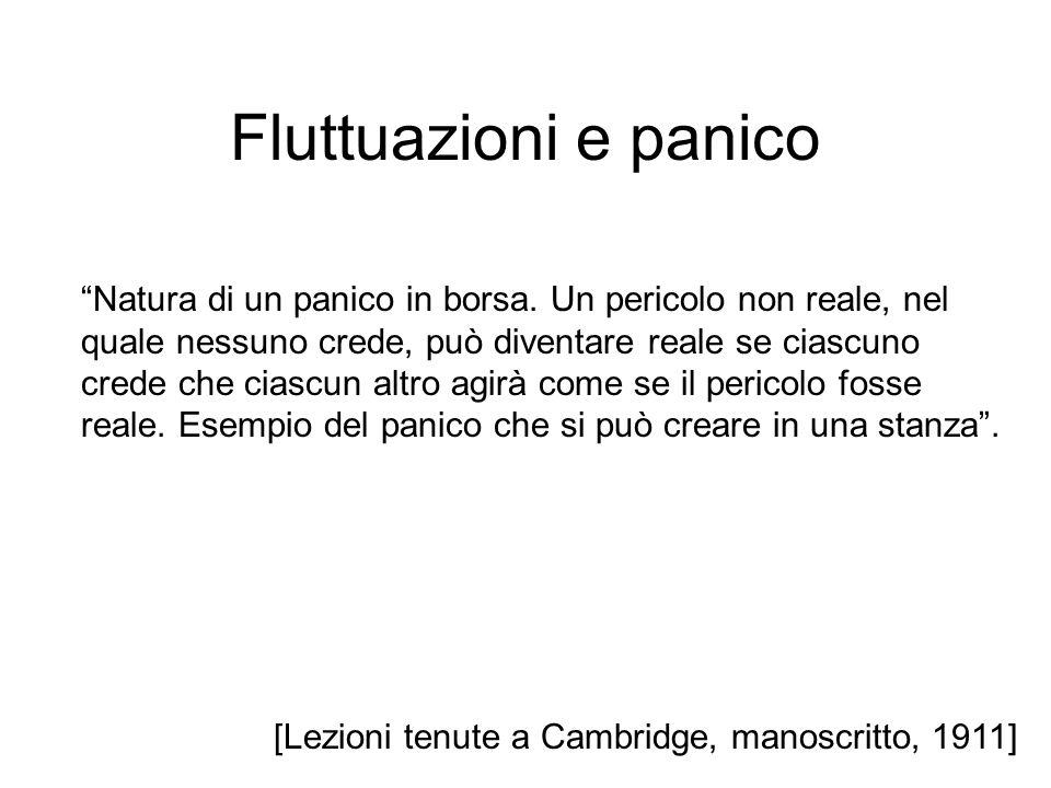 Fluttuazioni e panico